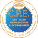 Certified Professional Electrologist Badge